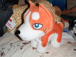 Large Riki plush by ShinyToyDinosaurs