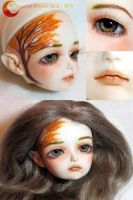 BJD Face Up - Angel of Dream Ai Ai by Izabeth