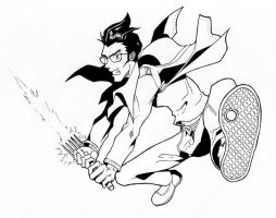 Travis Touchdown by Kukurobuki