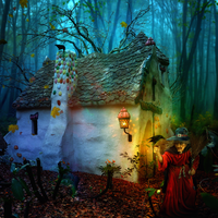 Hansel and Gretel by petronellavanree