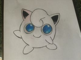 Color Pencil Jigglypuff by vjs777