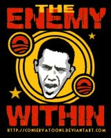 The Enemy Within: Obama by RedTusker