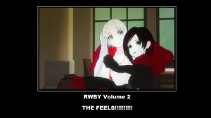 RWBY The Feels by Dustiniz117