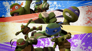 TMNT 2012 : OUCH! by MarionetteJ2X