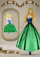 Childhood fashion sketches revisited 81 by BasakTinli