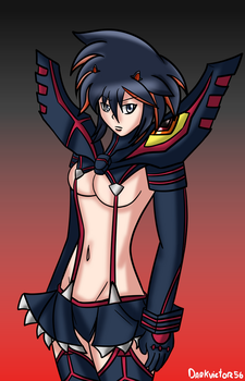 Matoi Ryuko by Darkvictor56