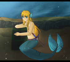 Sirena the mermaid by xCastra