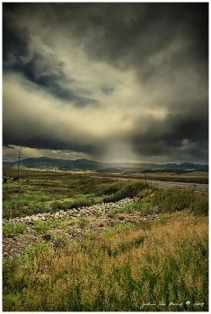 The Stormy Highway by kkart