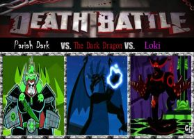 Death Match, The Ghost King vs. The Dragon of Dark by srebak