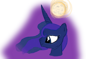 Princess Luna by KellyPony
