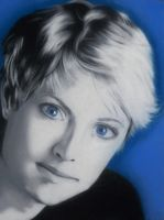 Sam Carter portrait by GreyDragonne