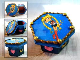 Sailor Moon Box by thedustyphoenix