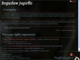 Homepage for Bogusaw Jagiello by JaBoJa