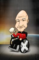 Patrick Stewart by mell0w-m1nded