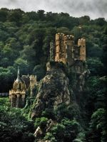 Germany - Burg Rheinstein by touch-the-flame