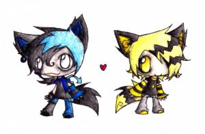Marrow and Static by zoey821997hi