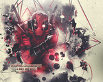 Deadpool- Collab with Drezz by GiladAvny