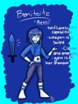 Steven Universe OC: Benni! by sophisticatedghost