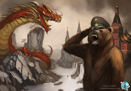 MOST GLORIOUS COMRADE by CharlieWilcher