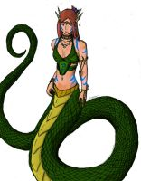 Serpentine Princess by Onmitsu