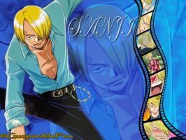 Wallpaper of Sanji by GueparddeFeu