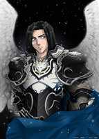 Aion Knight colorization by Tark91
