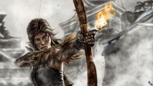 Tomb Raider by RowenHebing
