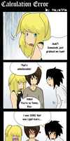 Death Note: Calculation Error by mayanna