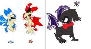 DQ/ghoul-chus: contest entries by piplup40