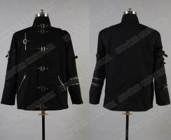 Bad Black Jacket Costume for Michael Jackson by moviescostume