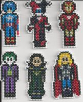 Marvel and DC Comic Characters by Sew-Madd