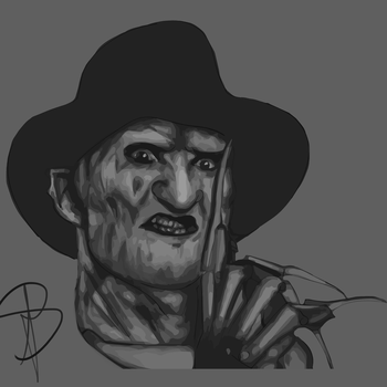 freddy krueger (Ps an Ai experiment) by JVA-Doodles