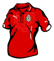 Mexico red shirt by miicho