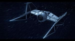 Star Wars Prototype TIE Fighter Commission by AdamKop