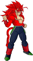 bardock ssj6 by sheamusbyrne