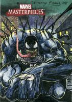 Venom MM3 Sketch Card by DKuang
