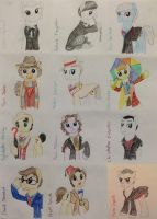 All the Doctors! by Qemma