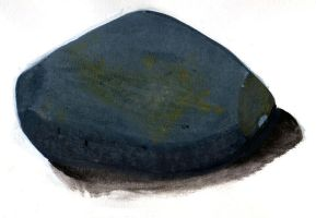 Gouache Rock by Clayman8