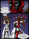 Deadpool and Nanoha issue 1 by Evil-Rick
