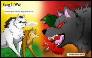 Wolf Song Inside Cover by ShroudofShadows