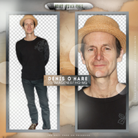 +Denis O'Hare photopack png by ForeverTribute