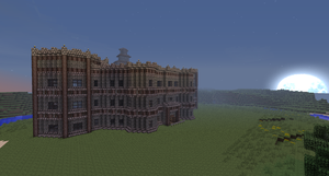 Minecraft Cosmic Castle Unfinished by Cosmic155