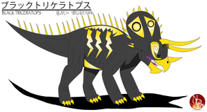 DN: TAC - Black Triceratops by Daizua123