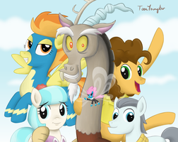 The Keys of Friendship by ToonYoungster