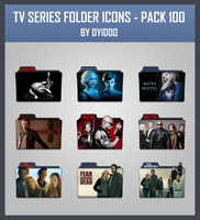 TV Series Folder Icons - Pack 100 by DYIDDO
