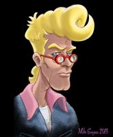 Egon Spengler: Color test by mikeysammiches