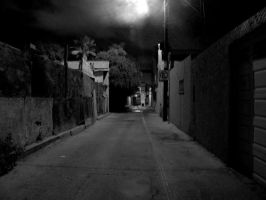 Night time on the street by xavier21fando