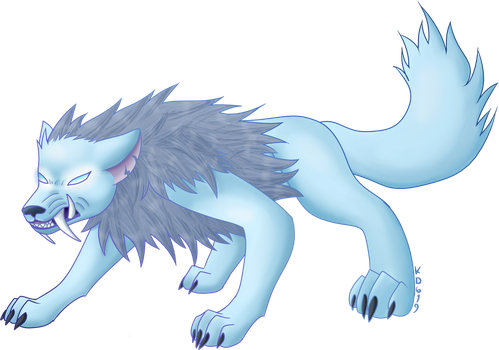 Corrupted Moonstone (redraw) by KittyDragon619