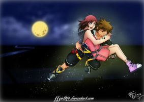REQUEST Sora and Kairi by FFgirl974