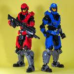 Red vs Blue by retinence